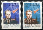 NORTH VIETNAM 1961 Titov - Sc.174-175 (Mi.181-182)  MNG (as Issued) VF - Vietnam