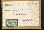=*= Merson 143 Seul Sur Fragment Tarif Imprimés 4ème échelon Paris  =*= - Cartas