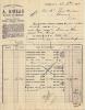 ORLEANS ENGRAIS CHIMIQUES A BINEAU ENVOYE A CHABRIS 1912 - France