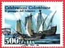 ITALIA - 1992 - Usato -  Celebrazioni Colombiane - 500 L. • Passaggio Dell´Atlantico - 1991-00: Oblitérés