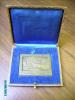 CONSEILLERS DU COMMERCE EXTERIEUR DE LA FRANCE CONGRES NATIONAL  ALGER  1930 MEDAL IN BOX , ALGERIE  PORT ALGER - Other