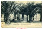 SAINTE-MAXIME La Place Des Palmiers Et La Fontaine - Sainte-Maxime