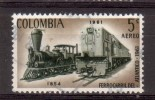 Trains, Locomotive, Trein,Railway: Colombia 1962 Mi 1033 - Treinen