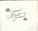 Kist Etiket Cigar Label, Etiquette, Deckelbild Trio 3 Handen En Wapenschild - Etiketten
