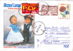 PUPPETS, 2003, COVER STATIONERY, ENTIER POSTAL, SENT TO MAIL, ROMANIA - Puppen