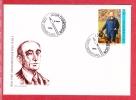 Cachet 1000 LUXEMBOURG  JOUR  D EMISSION 1996  Timbre  EMILE MAYRICH - Lettres & Documents