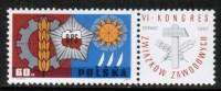 POLAND    Scott #  1510**  VF MINT NH - 1944-.... Republic