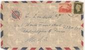 NETEHERLANDS - SURINAME 1953 - FRONT  -COVER To PHILADELPHIA - Surinam ... - 1975