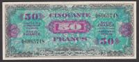 Trésor - 50 Francs Drapeau - 1944 Sans Série En SUP - 1944 Drapeau/France