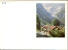 Kalender 1958 - Berglandschap - Calendriers