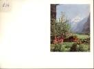 Kalender 1958 - Berglandschap Met Bloemen - Calendriers