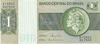 BILLETE DE BRASIL DE 1 CRUZEIRO  (BANKNOTE) SIN CIRCULAR - Brasil