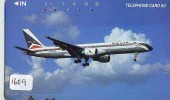 Télécarte Japon *  DELTA (1609) Japan Phonecard Airplane - Flugzeug Avion * AIRLINES * VLIEGTUIG * - Airplanes
