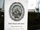 GUALTIERI  SANTINO BEATA VERGINE DELLE GRAZIE  ORATORIO  FATTORI RROVESTI SNNO MARIANO 1954 DU721 - Images Religieuses