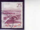 TITOGRAD-25 DIN-BRIDGE-LIBERATION-20 ANNIV-POSTMARK-BLATO-ERROR-CROATIA-YUGOSLAVIA-1965 - Imperforates, Proofs & Errors