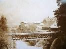 PHOTOGRAPHIE 1900 : ROUTE DE LA TAMINA A BAD RAGAZ CANTON DE SAINT-GALL SUISSE - Photos