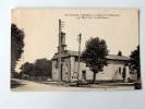 Carte Postale Ancienne : CAZEAUX-LAC : L'Eglise Et Le Monument Aux Morts - France