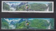 = France-Brésil Mer De Glace Vallée De Chamonix 4255 4256 (Haute Savoie) Forêt Amazonienne Au Brésil 3026 3027 - Emissions Communes