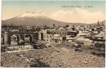 PERÚ - AREQUIPA - El Misti +++++ Vers Barcelona, Espagne, 1910 +++ E. Polack-D., #77; Lima, Perú ++++++ - Pérou