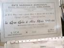 VIAREGGIO GRAN CAFFE MARGHERITA BIGLIETTO GRAN GALA ALTA MODA 1963 64 ENTE SORDO MUTI DU758 - Tickets - Vouchers
