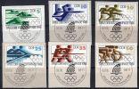 9.8.1988, Y&T  No.  2796 - 2801, Jeux Olympiques, Lot 41223 - Estate 1988: Seul