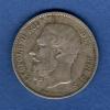BELGIQUE Belgium 5 Francs 1871 [TTB] Argent Silver (0554) - 1865-1909: Leopold II