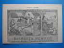 Publicité 1903 Biscuits PERNOT  (dessin Art Nouveau) - Pubblicitari
