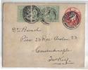 ENG29 - GRAN BRETAGNA , Intero Viaggiato Per Constantinople (Turkey) . Poco Fresco - Storia Postale