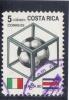 Costa  Rica  -  1990  -  Yvert - 525 ( Usado ) - Costa Rica