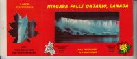 Niagara Falls Ontario, Canada - Carnet De 10 Cartes Postale Et 10 Mine-vue - Chutes Du Niagara