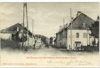 Carte Postale Ancienne Les Baraques Près Saint Bonnet - Route De Gap à Corps - France