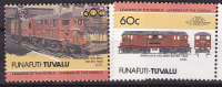 Railways- 2zegels - Tuvalu