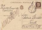 "CAPODISTRIA -POLA  / TRIESTE - 11.08.1943 - Card_Cartolina Pubbl. ""Cav. Dott. N. SCAMPICCHIA"" Cent. 30_ FASCI - 1900-44 Vittorio Emanuele III"