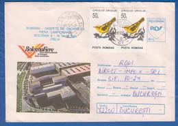 Rumänien; Brief Fiera Di Bologna 1995; Messe; Trade Fair; Salon; Inflamarken - Weltausstellung