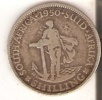 MONEDA DE PLATA DE SUDAFRICA DE 1 SHILING DEL AÑO 1950  (COIN) SILVER,ARGENT. - South Africa
