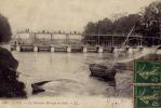 CAEN    NOUVEAU  BARRAGE      1917 - Caen