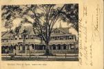 TRINIDAD PORT OF SPAIN  QUEEN'S PARK HOTEL OLD POSTCARD 1902 - Trinidad