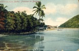 BRAZIL SANTOS FORTALEZA DA BERTIOGA OLD POSTCARD 1910 - Fortaleza