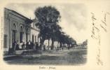 URUGUAY PUEBL - ARTIGAS  TESTASECCA Y CIA EDIT. MONTEVIDEO OLD POSTCARD 1903 - Uruguay