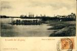 URUGUAY BALSA EN SANTA LUCIA J.OLIVERAS 18.DE JULIO 236.  OLD POSTCARD 1902 - Uruguay