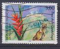 France 1997 Mi. 3198     3.00 Fr Nationalparks Guadeloupe, Waschbär, Indisches Blumenrohr - Frankreich