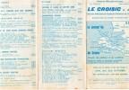 Publicités LE CROISIC Liste Des Adherents Du Syndicat D Initiative - Advertising