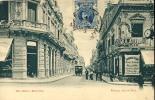 AMERICA URUGUAY CALLE RINCON MONTEVIDEO Horse-drawn Carts Or Horse Tram EDIT.AD.HNOS OLD POSTCARD - Uruguay