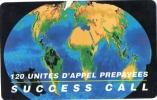 CARTE PREPAYEE  SUCCESS CALL 120 Unites  2935 - Prepaid Cards: Other
