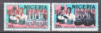 Nigeria 301, 301a   (o)  SCIENCE - Nigeria (1961-...)