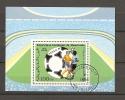 Football Soccer Bloc Feuillet Oblitéré Ref 119 Mauritanie MEXICO 86 - Football