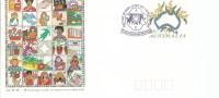 Working With Women Worldwide FDI 13 May 1993 Hobart Tas 7000 Special Postmark Unaddressed Cover - Postal Stationery