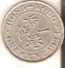 MONEDA DE HONG KONG DE 1 CENT DEL AÑO 1934  (COIN) - Hong Kong