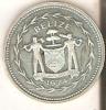 MONEDA DE PLATA DE BELIZE DE 25 CENTS DEL AÑO 1974  (COIN) SILVER-ARGENT - Belize