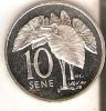 MONEDA  DE PLATA DE SAMOA DE 10 SENE DEL AÑO 1974  (COIN) SILVER-ARGENT - Samoa
